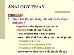 analogy essay3
