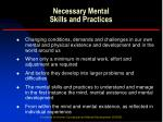 necessary mental skills and practices2