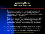 necessary mental skills and practices5