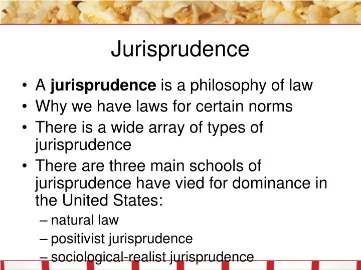 different schools of jurisprudence