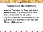 responsive bureaucracy