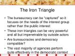 the iron triangle1