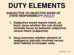 duty elements