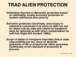 trad alien protection