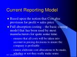 current reporting model1