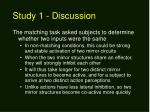 study 1 discussion1