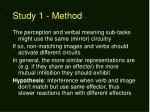 study 1 method2
