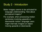 study 2 introduction