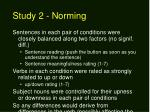 study 2 norming