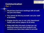 communication part 1