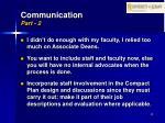 communication part 2