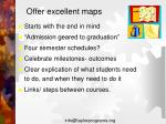 offer excellent maps