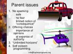 parent issues