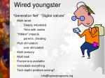 wired youngster