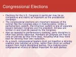 congressional elections