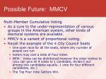 possible future mmcv