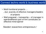 connect techno world business world