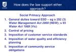 how does the law support either approach