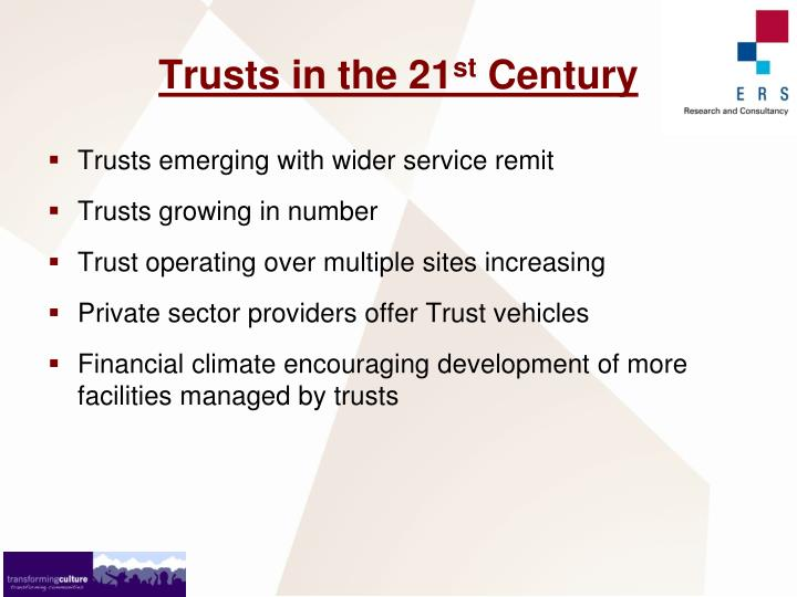 Trusts in the 21