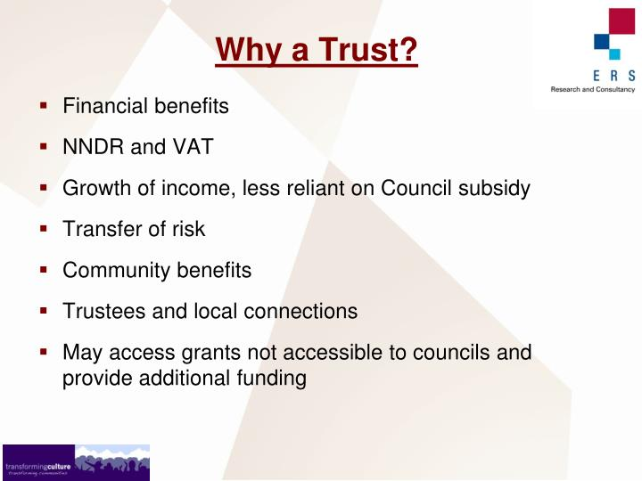 Why a Trust?