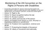 monitoring of the un convention on the rights of persons with disabilities10