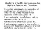 monitoring of the un convention on the rights of persons with disabilities12