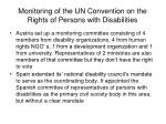 monitoring of the un convention on the rights of persons with disabilities14
