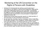 monitoring of the un convention on the rights of persons with disabilities16