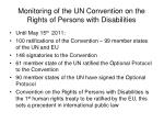 monitoring of the un convention on the rights of persons with disabilities3