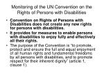 monitoring of the un convention on the rights of persons with disabilities4