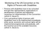monitoring of the un convention on the rights of persons with disabilities6