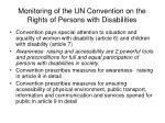 monitoring of the un convention on the rights of persons with disabilities9