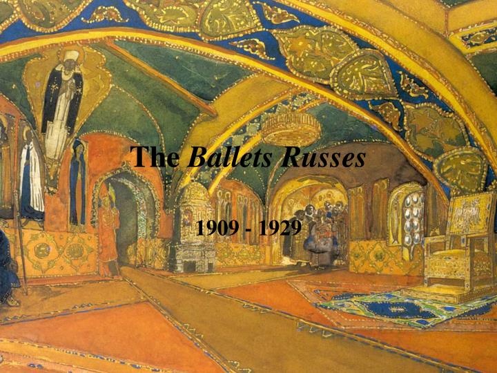 the ballets russes n.