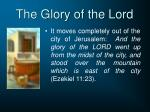 the glory of the lord1