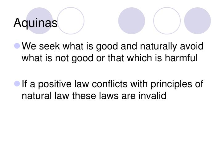 relationship between natural law and positive jurisprudence