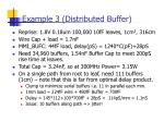 example 3 distributed buffer