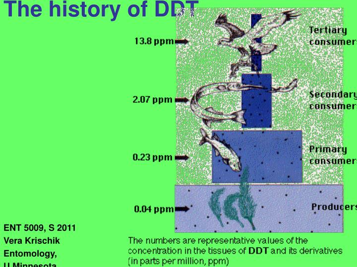 the history of ddt n.