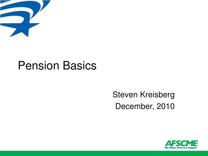 pension basics n.