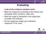evaluating1