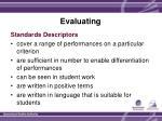 evaluating4
