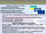 experience of voznesensky district in attraction of investments
