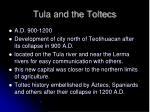 tula and the toltecs