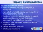 capacity building activities1
