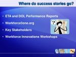 where do success stories go