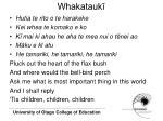 whakatauk