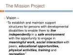 the mission project1