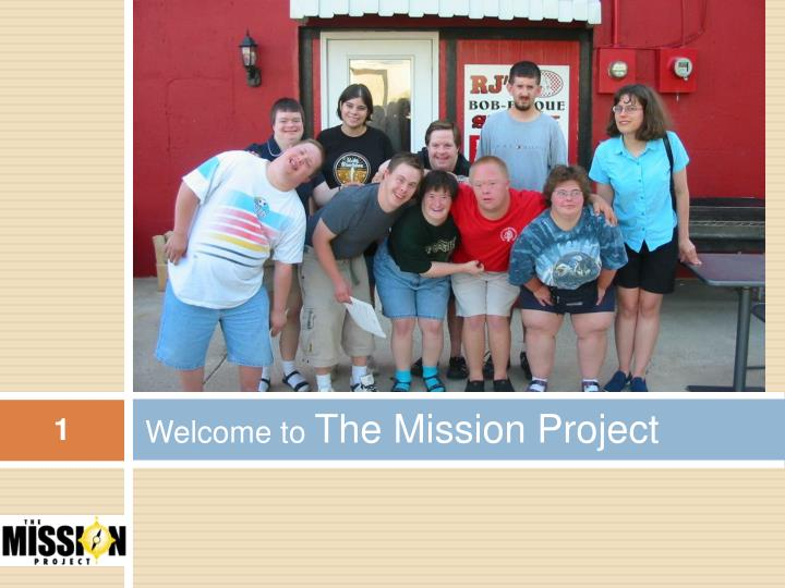 welcome to the mission project n.