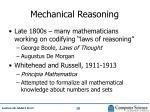mechanical reasoning1