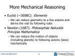 more mechanical reasoning