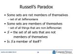 russell s paradox